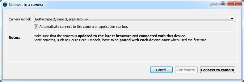 Camera Suite: Apple MacOS and Microsoft Windows Help